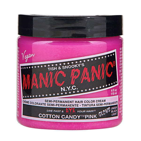 Manic Panic Hair Color Cream Cotton Candy 118ml