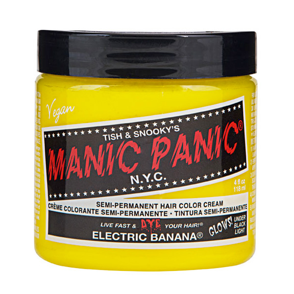 Manic Panic Hair Color Cream Electric Banana 118ml
