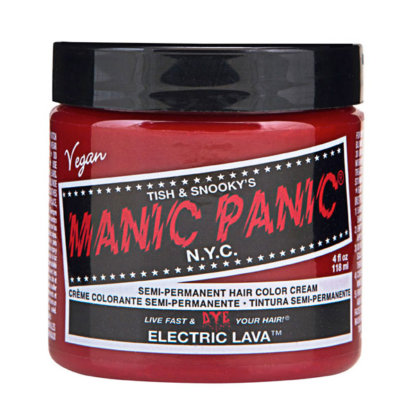 Manic Panic Hair Color Cream Electric Lava 118ml