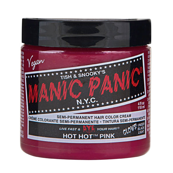 Manic Panic Hair Color Cream Hot Hot Pink 118ml