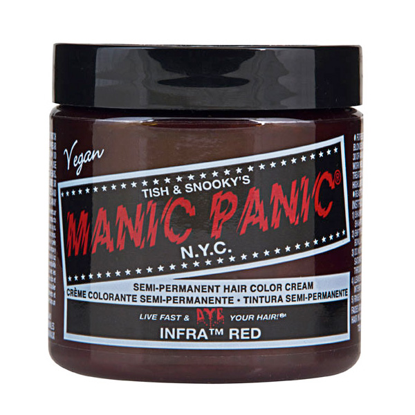 Manic Panic Hair Color Cream Infra Red 118ml