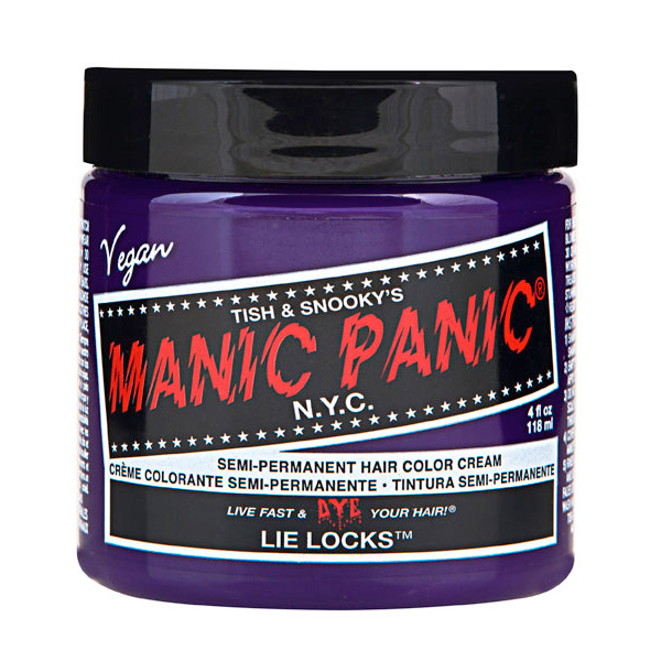 Manic Panic Hair Color Cream Lie Locks 118ml