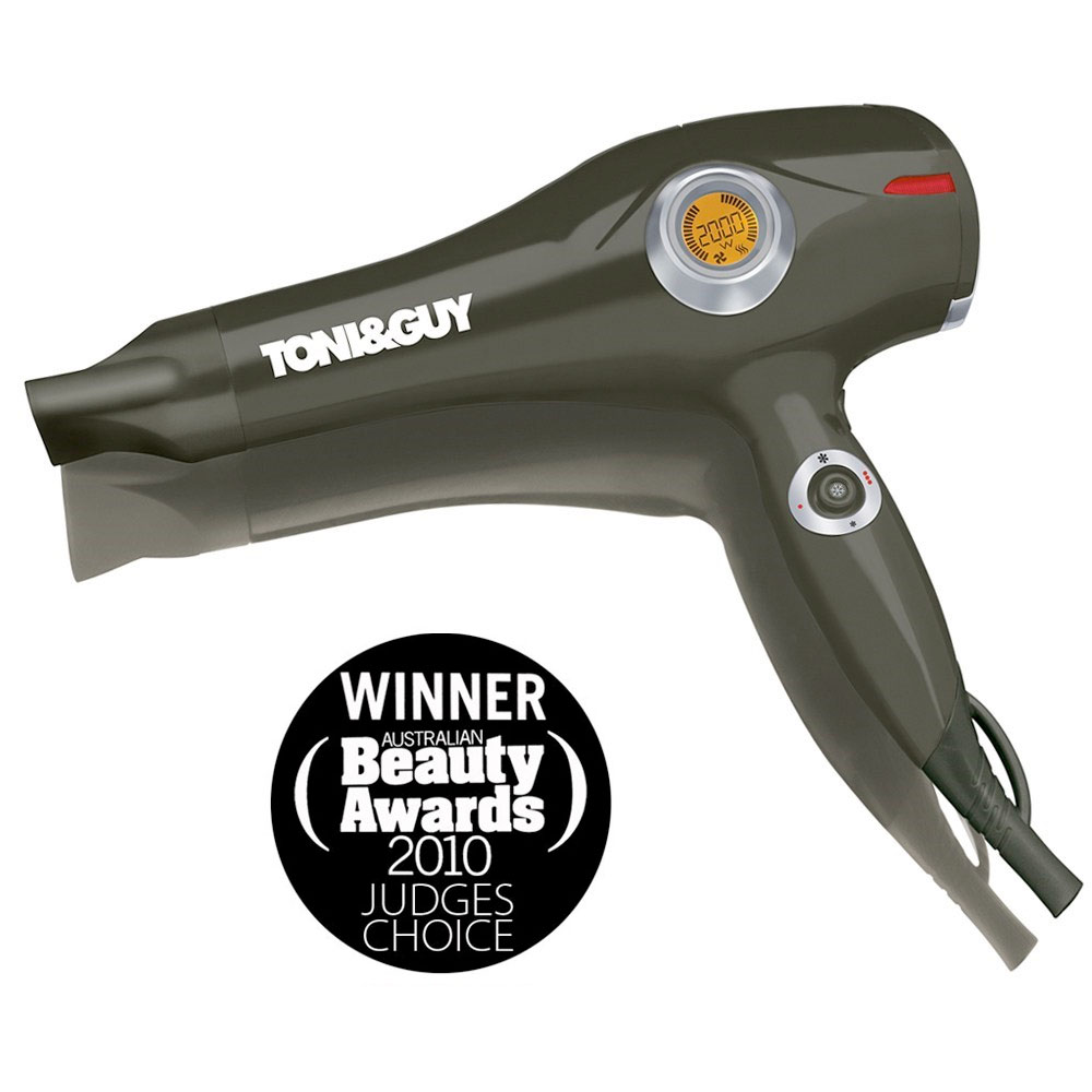 TONI&GUY 2000W Joystick Control Hair Dryer
