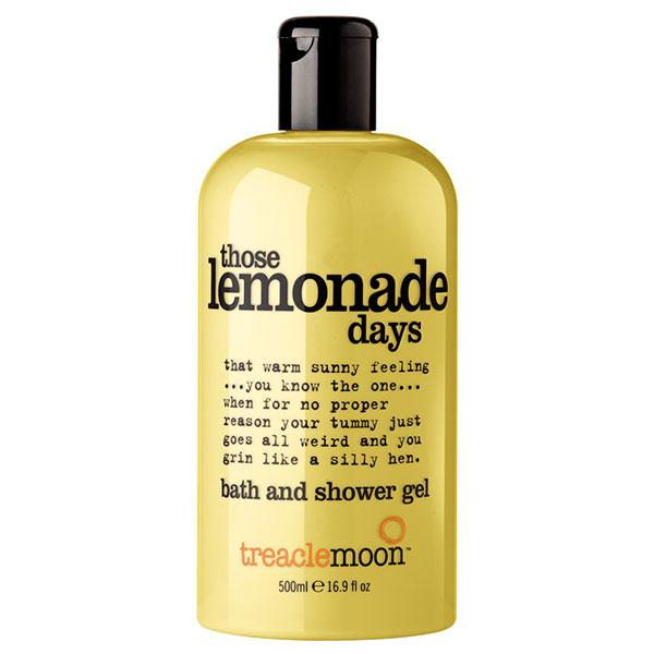 Treaclemoon Those Lemonade Days Bath and Shower Gel 500ml