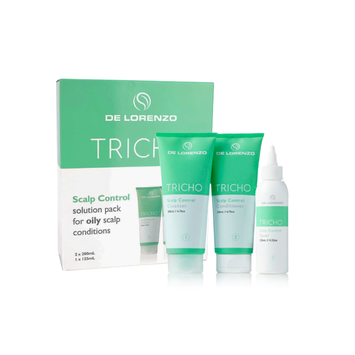 De Lorenzo Tricho Scalp Control Treatment Trio Pack