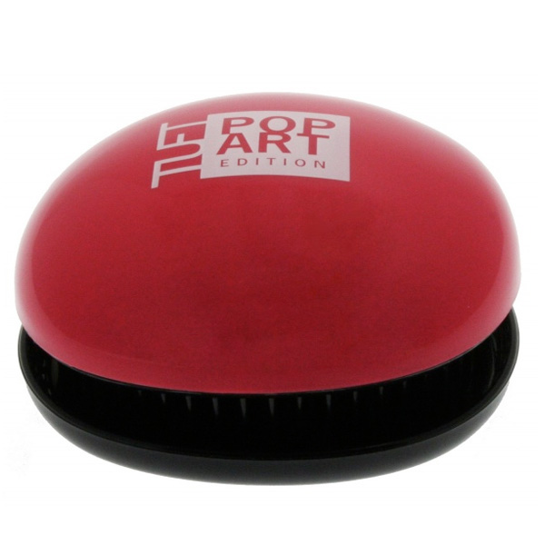 Tuft Pop Art Edition Pocket Detangler Red