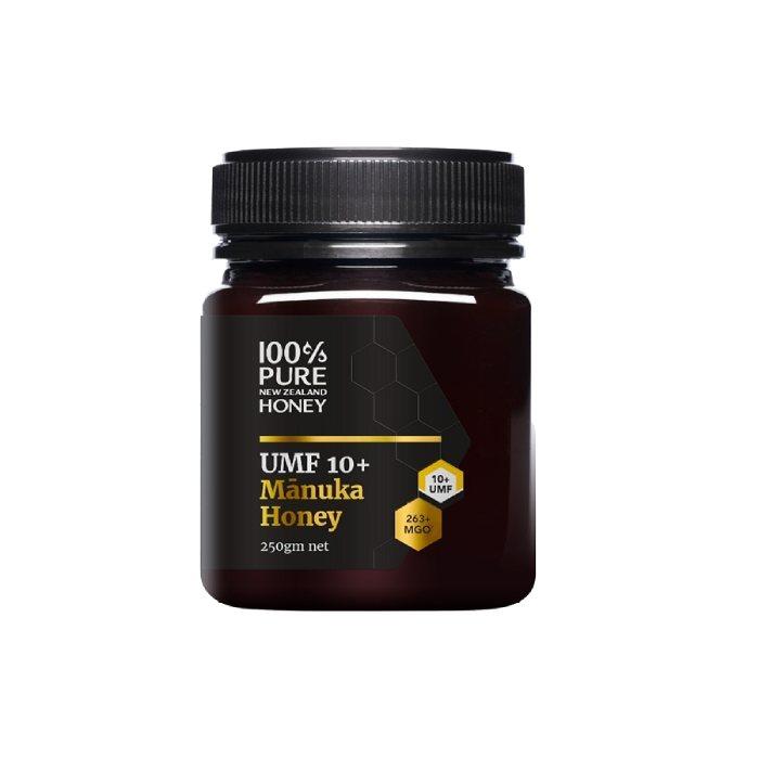 100% Pure New Zealand Honey Mānuka UMF 10+ MGO 263+ 250g