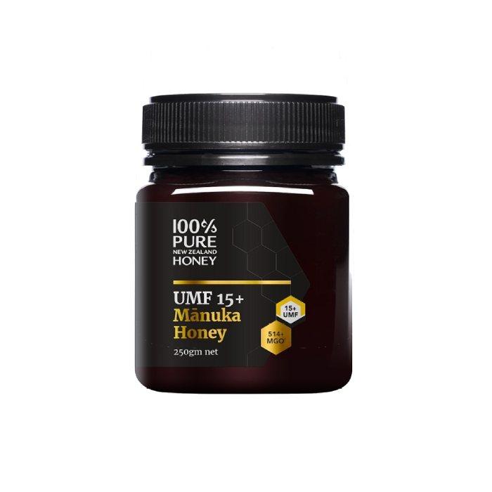 100% Pure New Zealand Honey Mānuka UMF 15+ MGO 514+ 250g