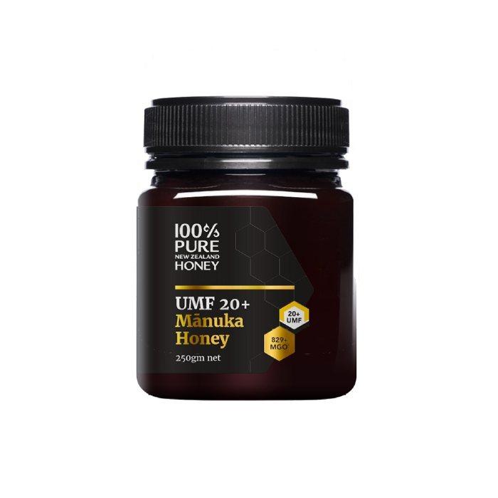 100% Pure New Zealand Honey Mānuka UMF 20+ MGO 825+ 250g