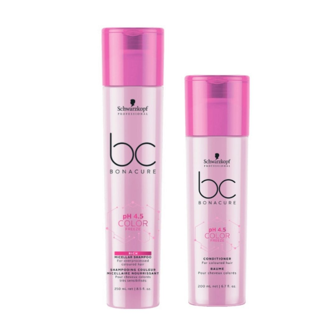 Schwarzkopf BC BonaCure pH 4.5 Color Freeze Duo Pack