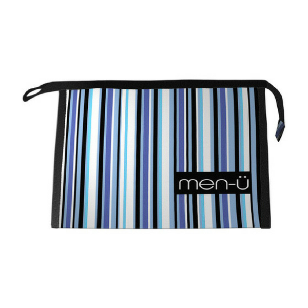 Men-U Stripes Toiletry Bag 25.5cm x 18cm