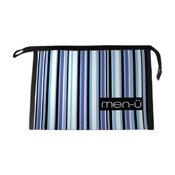 Men-U Stripes Toiletry Bag 25.5cm x 18cm