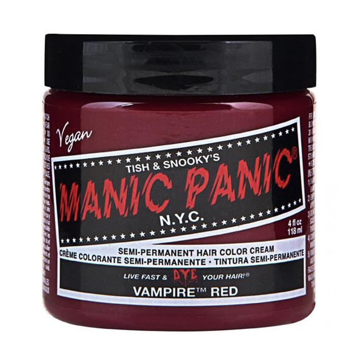 Manic Panic Hair Color Cream Vampire Red 118ml