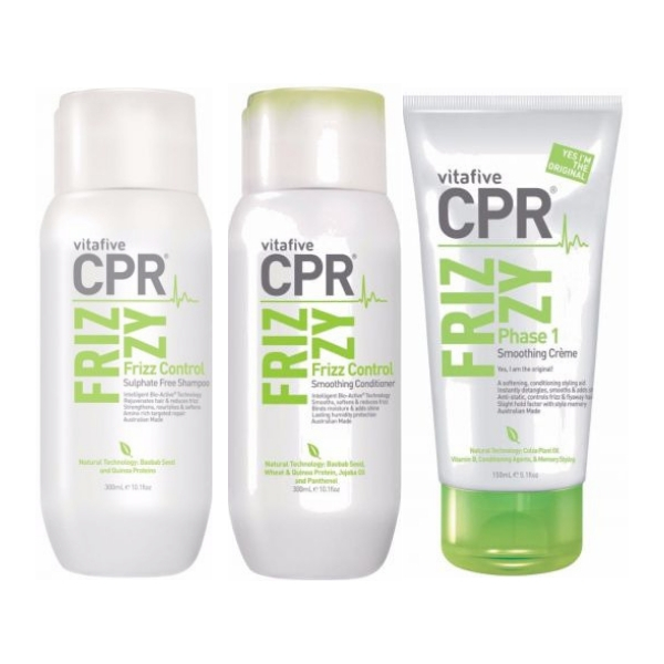 Vitafive CPR Smooth & Control Trio Pack