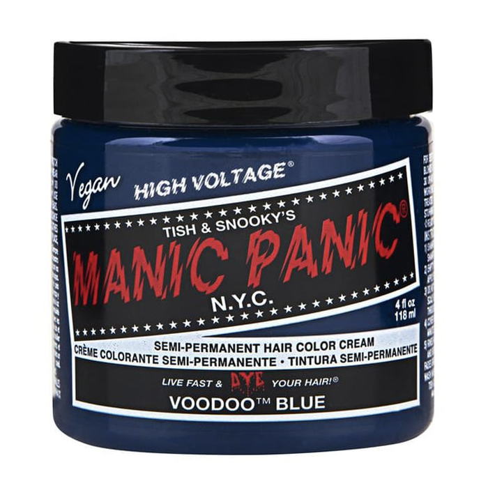 Manic Panic Hair Color Cream Voodoo Blue 118ml