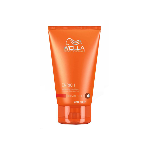 Wella Enrich Moisturising Conditioner for Dry and Damaged Hair 200ml