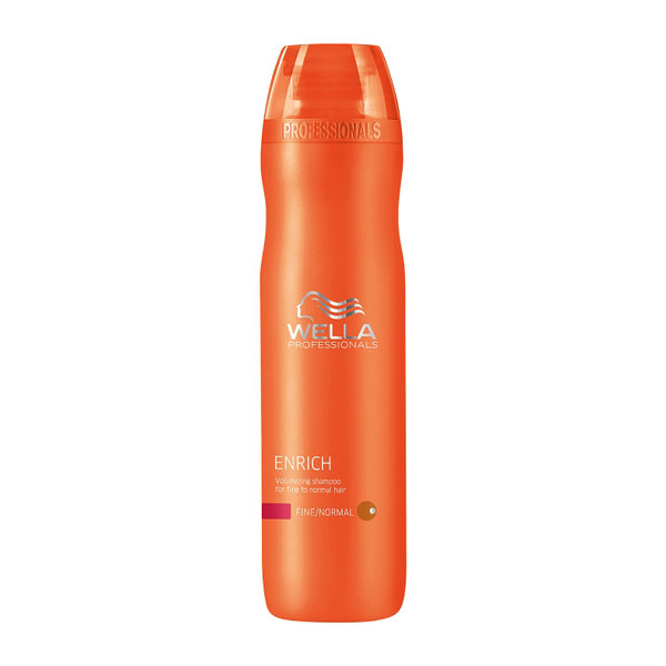 Wella Enrich Moisturising Shampoo for Dry and Damaged Hair 250ml