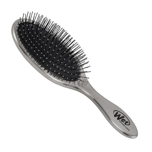 WetBrush Original Detangler Hair Brush Antique Silver