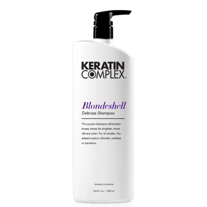 Keratin Complex Blondeshell Debrass & Brighten Shampoo 1 Litre