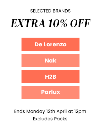Extra 10% OFF Selected Brands