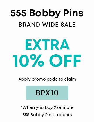 Extra 10% OFF 555 Bobby Pins