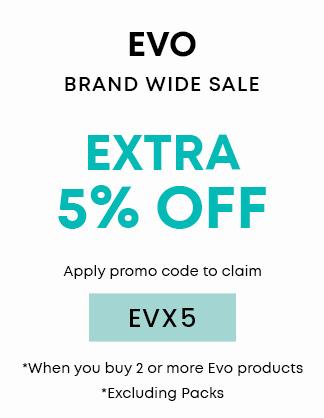 Extra 5% OFF Evo