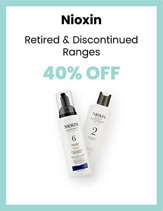 Nioxin 40% OFF Retired & Discontinued Ranges