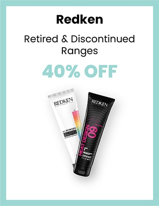 Redken 40% OFF Retired & Discontinued Ranges