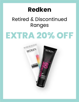 Redken extra 20% OFF Retired & Discontinued Ranges