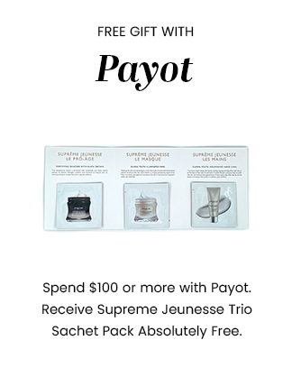 GWP - Payot Supreme Jeunesse Trio Sachet Pack