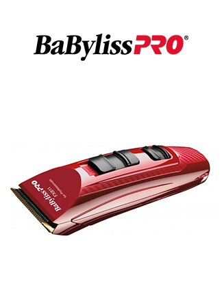 Xmas - BabylissPRO X2 Volare Ferrari Engine Professional Luxury Hair Clippers Red