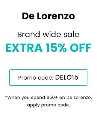 De lorenzo Extra 15% OFF