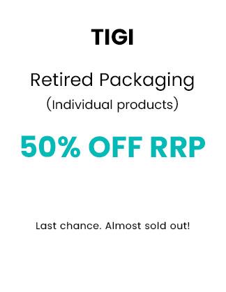 TIGI Retired Packaging