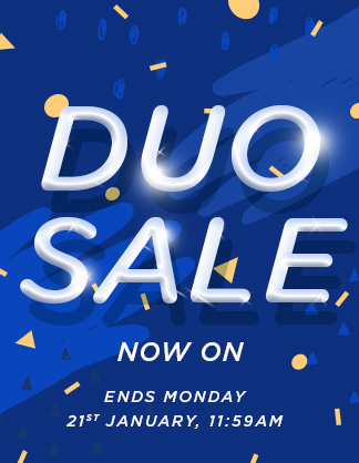 Duo Sale Now on!