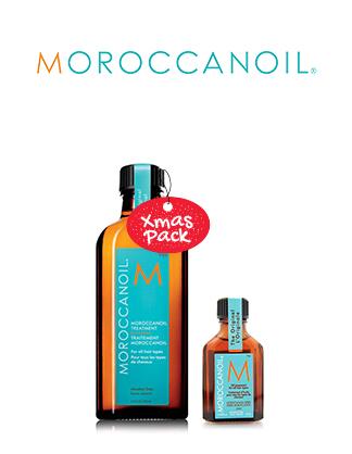 Xmas - Moroccanoil Original Treatment Home n Away Pack