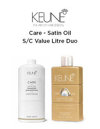 Keune Satin Oil 1 Litre Duo