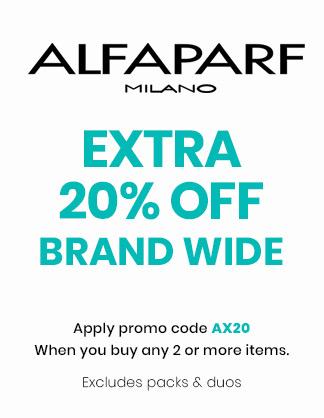 Extra 20% OFF Alfaparf