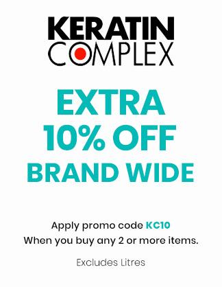 Extra 10% OFF Keratin Complex