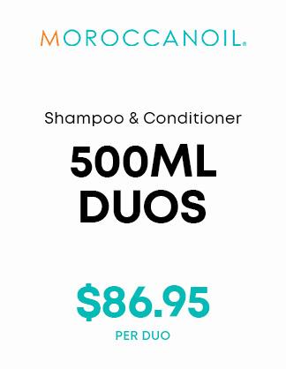 Moroccanoil 500ml Duos