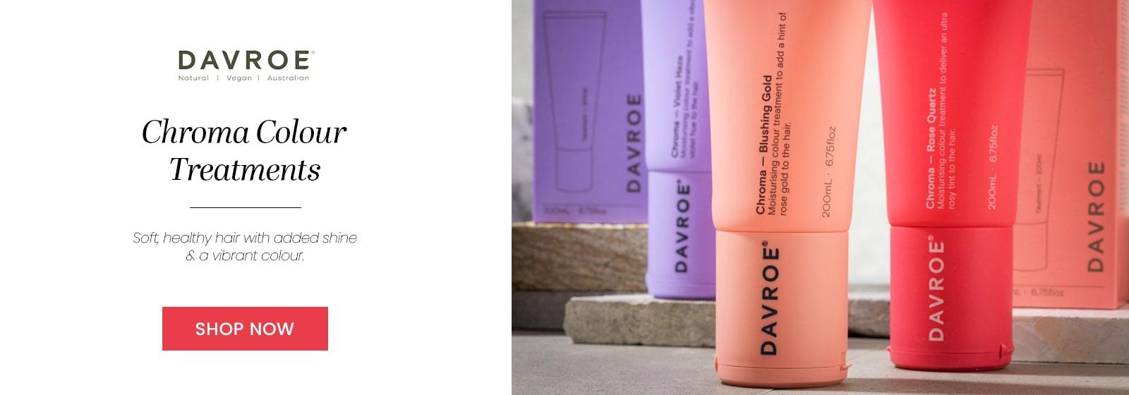 Davroe Chrome Colour Treatments - Shop Now