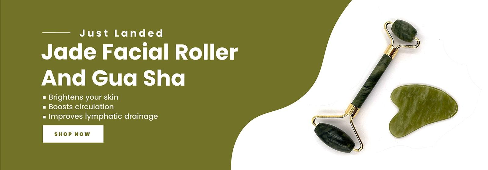 Gua Sha and jade roller