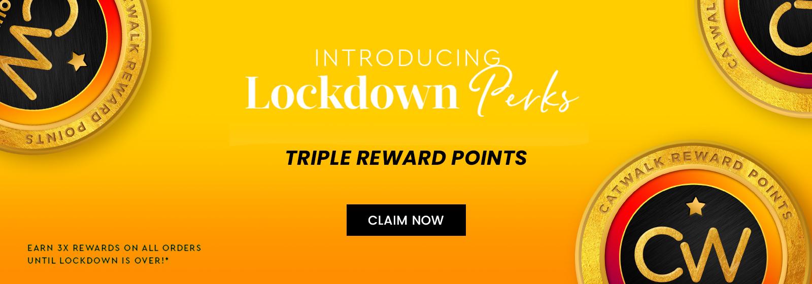 triple reward points