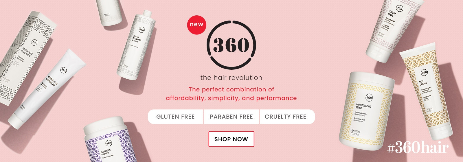 New 360 Hair Revolution Brand - Cruelty, Paraben & Gluten Free – Only at Catwalk Hair & Beauty Australia