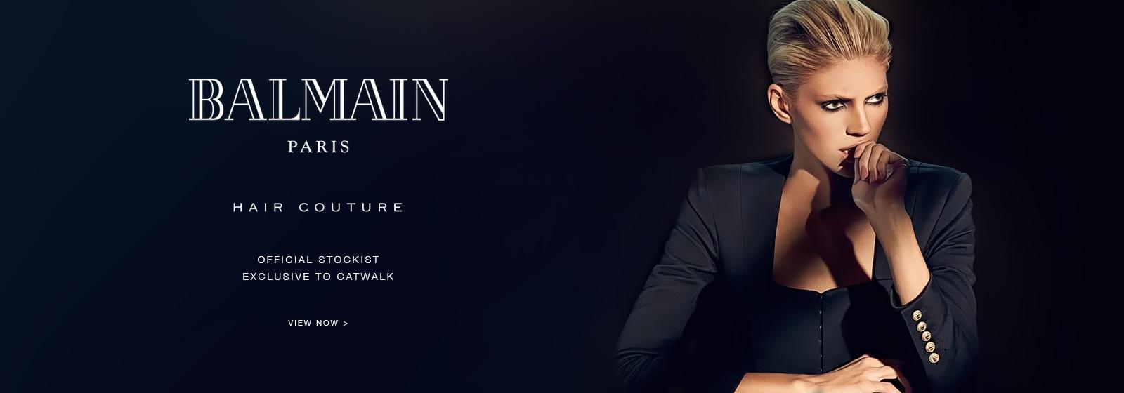 Balmain Paris - Hair Couture Now Available