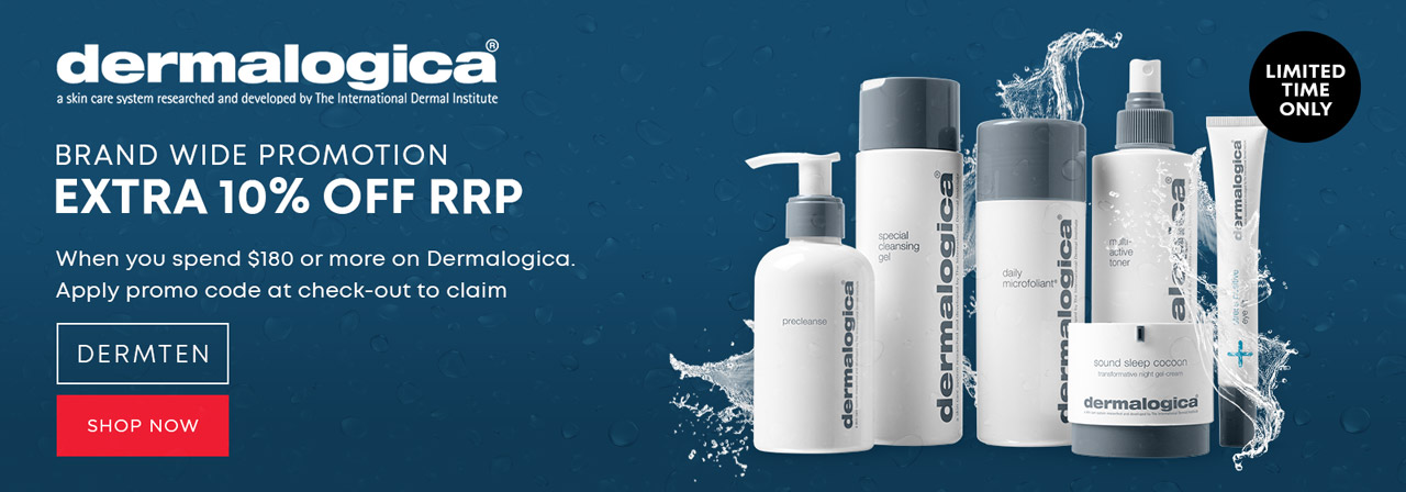 Dermalogica Extra 10% OFF at Catwalk Hair & Beauty Store Australia