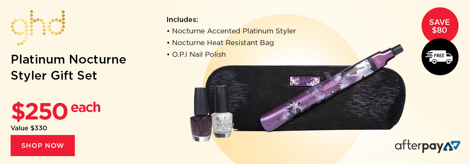 ghd Nocturne Styler Gift Set