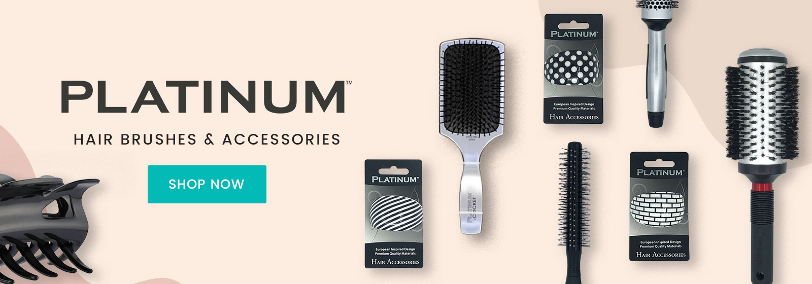 New Platinum Brushes & Accessories  Available At Catwalk Hair & Beauty Store Australia