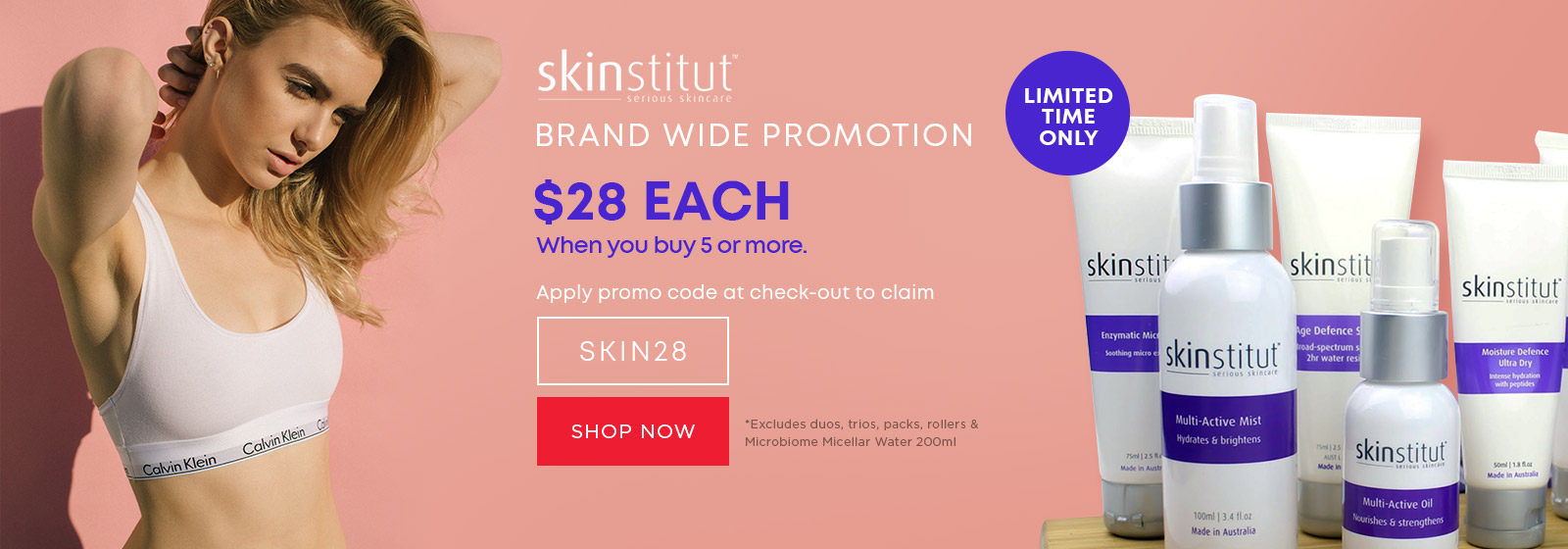 Sale on Skinstitut $28 each only, at Catwalk Australia