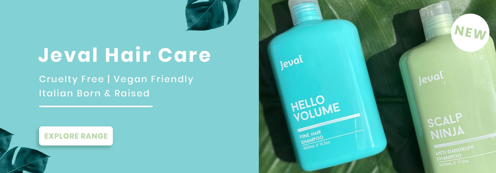 New Jeval Products - Now Available at Catwalk Hair & Beauty Store Australia