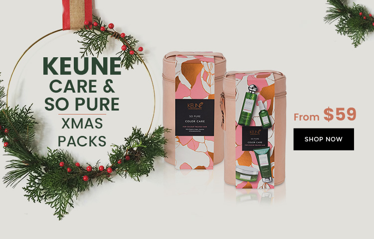 Keune Xmas Packs Now Available At Catwalk Hair & Beauty Store Australia